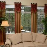 Window treatments, window drapery, window shades, window coverings, roman shades, shades, shutters, window valences and interior design.